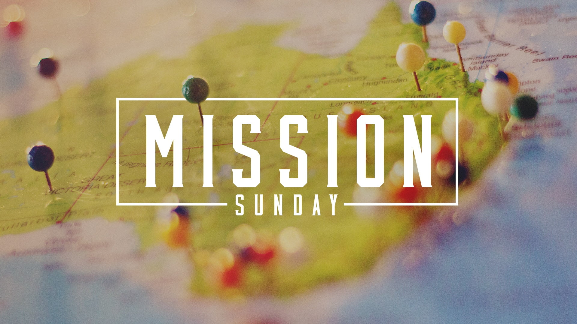 Missions Sunday -- Ryan McCullough