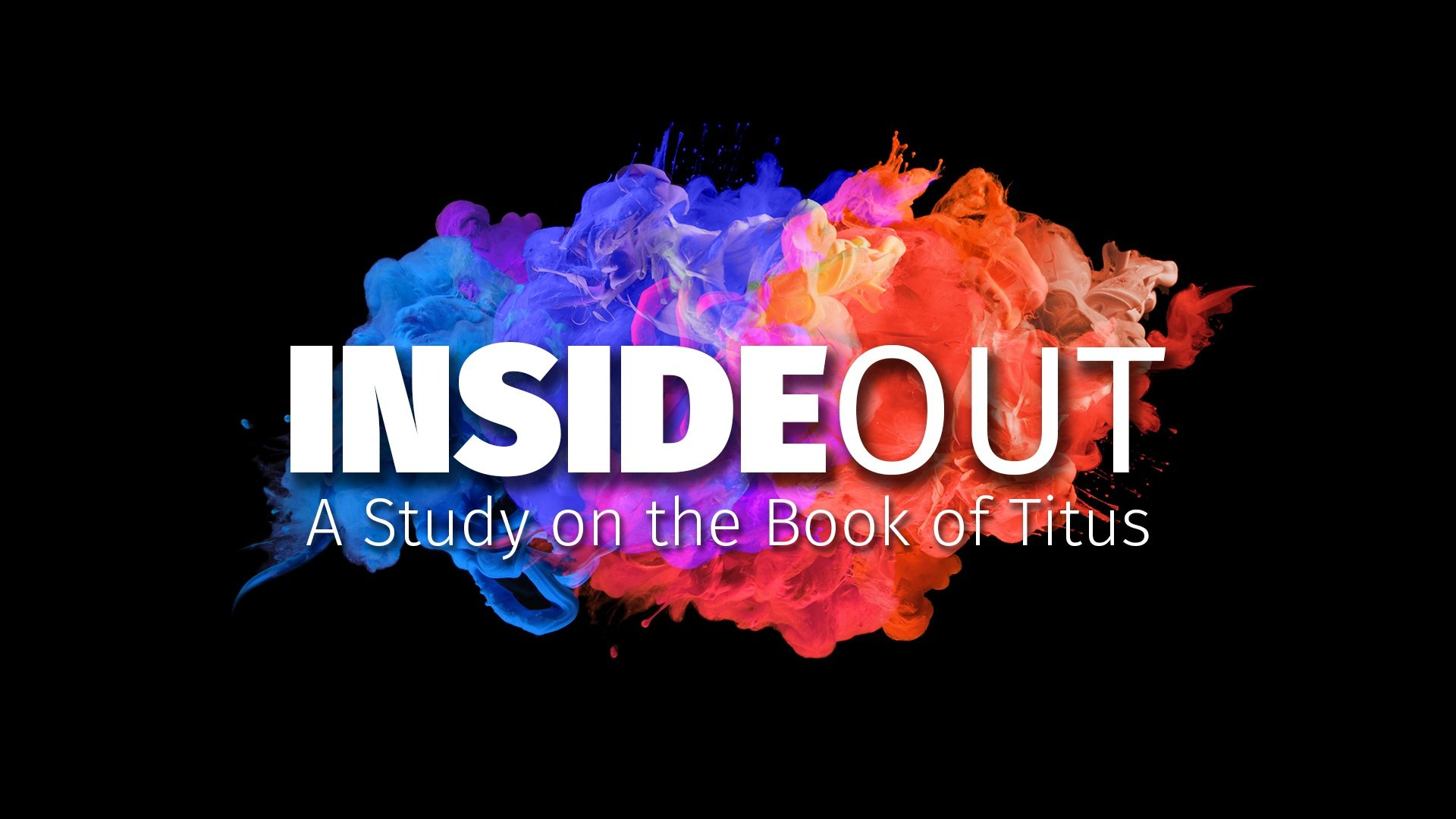 Inside out -- Week 1