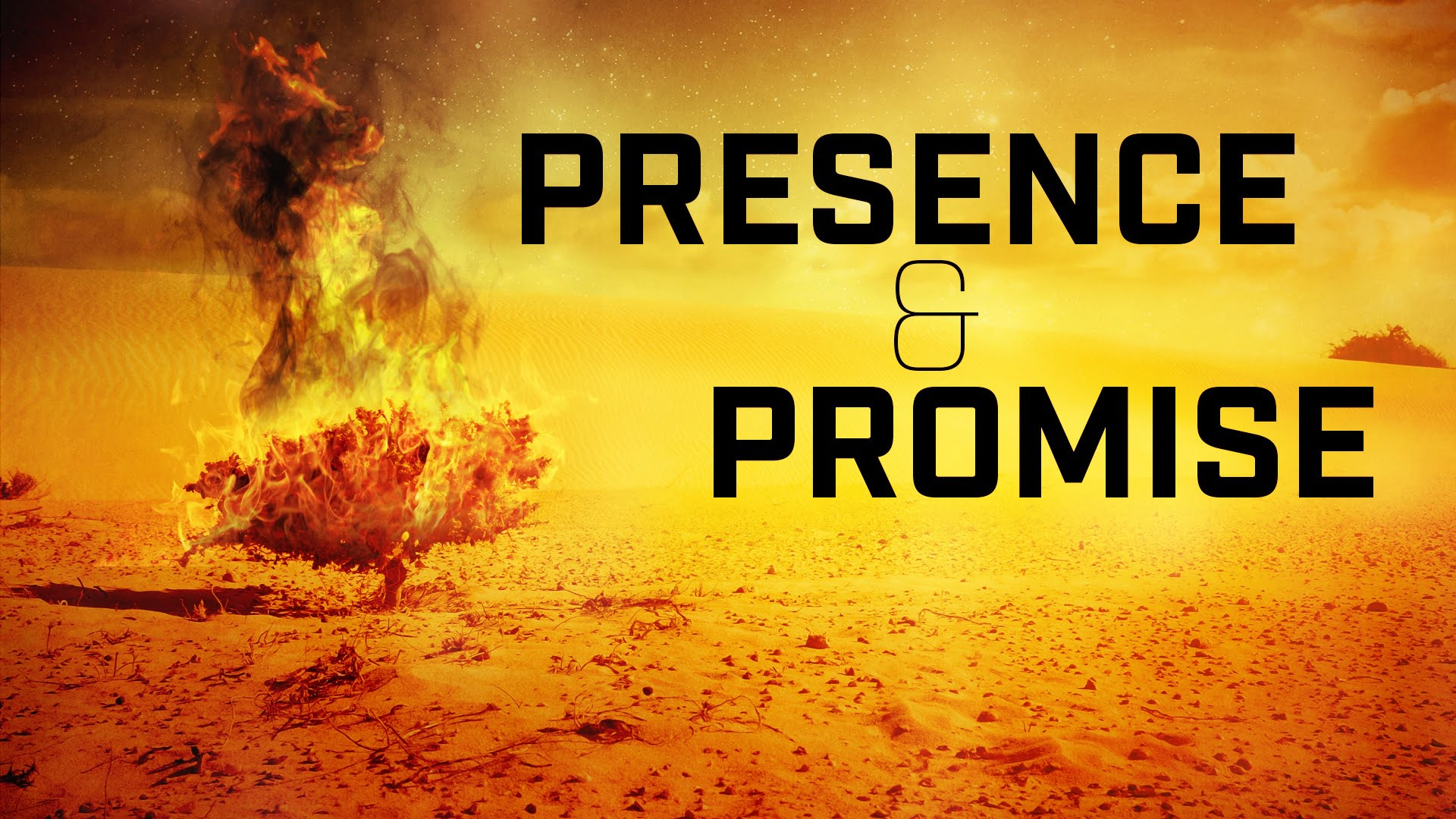 Presence and Promise -- Week 2